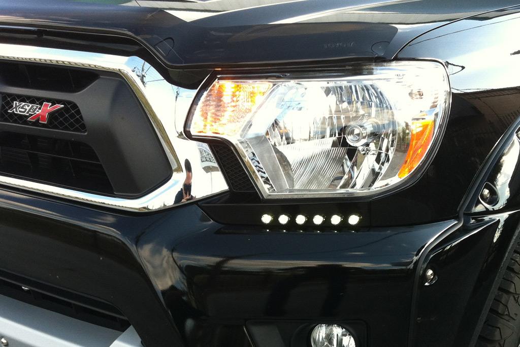 2012 2015 tacoma drl driving daytime running light led. Black Bedroom Furniture Sets. Home Design Ideas