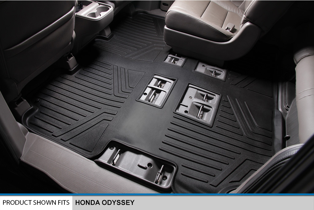 All Weather Floor Mats Set 3 Row Set And Cargo Liner