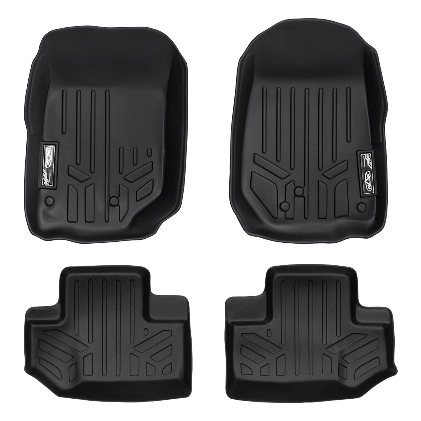 2011-2013 Jeep Wrangler MAXFloormat All Weather Custom