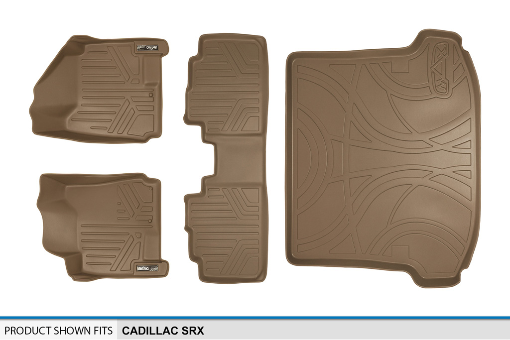 All Weather Custom Fit Floor Mats Set And Cargo Liner