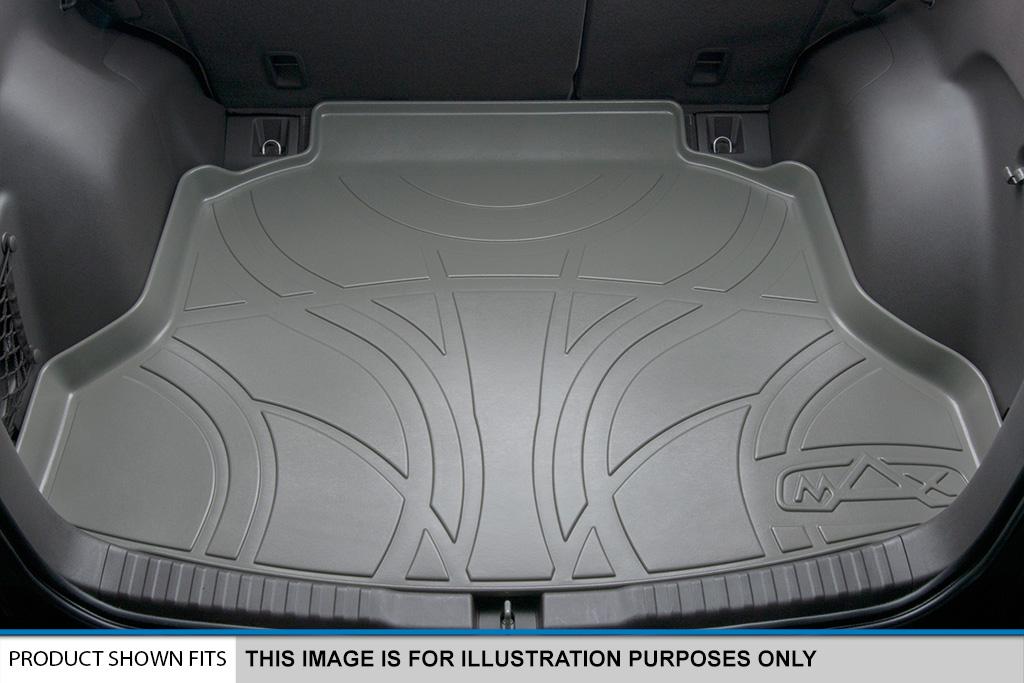 maxtray 2011-2017 toyota sienna all-weather cargo/trunk floor